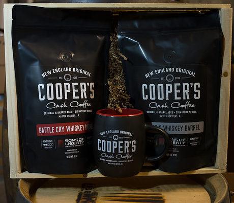 Whiskey Barrel Aged Coffee